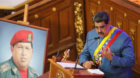 'Ku Klux Klan cowboys of the White House': Maduro unloads on Trump's 'extremist' administration in fiery speech