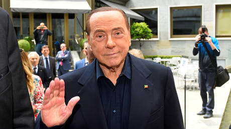 Italy's ex-PM Berlusconi admitted to hospital over heart problems