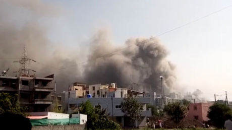 Fire breaks out at world's biggest vaccine maker, India's Serum Institute (VIDEO)