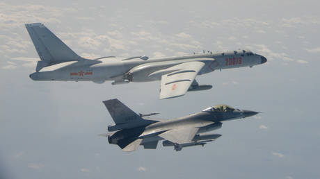 US pledges 'rock-solid' commitment to Taiwan's defense after island reports incursion of Chinese bombers & fighter jets
