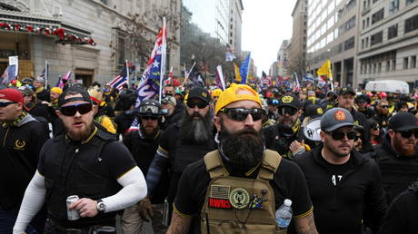 Canadian lawmakers demand Trudeau label Proud Boys 'TERRORIST entity' in unanimous motion on 'hate groups'