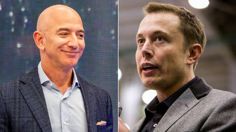 Billionaire brawl: Musk blasts Bezos' Amazon over effort to 'hamstring' SpaceX Starlink satellite internet project