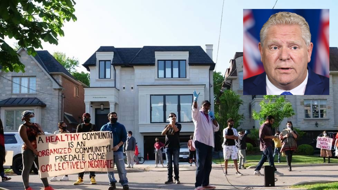 Ford freezes residential evictions, but hearings continue