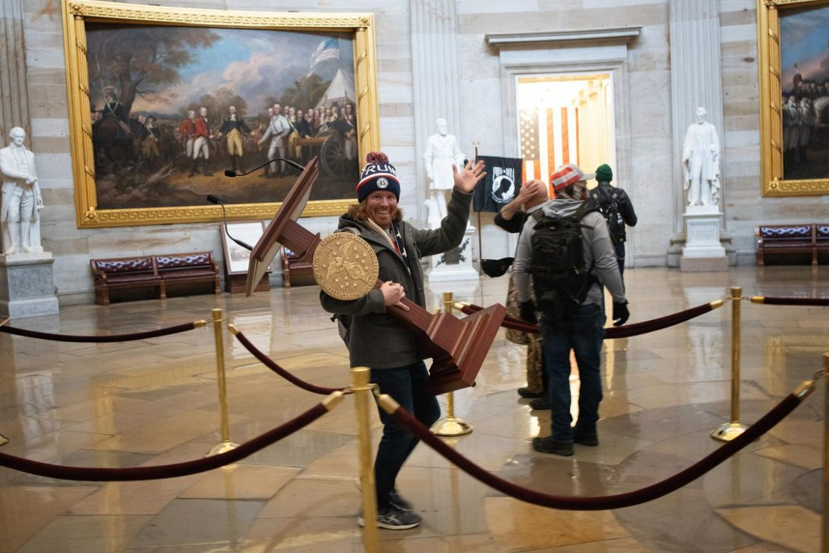 """""""Sense of Entitlement"""": Rioters Faced Few Consequences Invading State Capitols. No Wonder They Turned to the U.S. Capitol Next."""