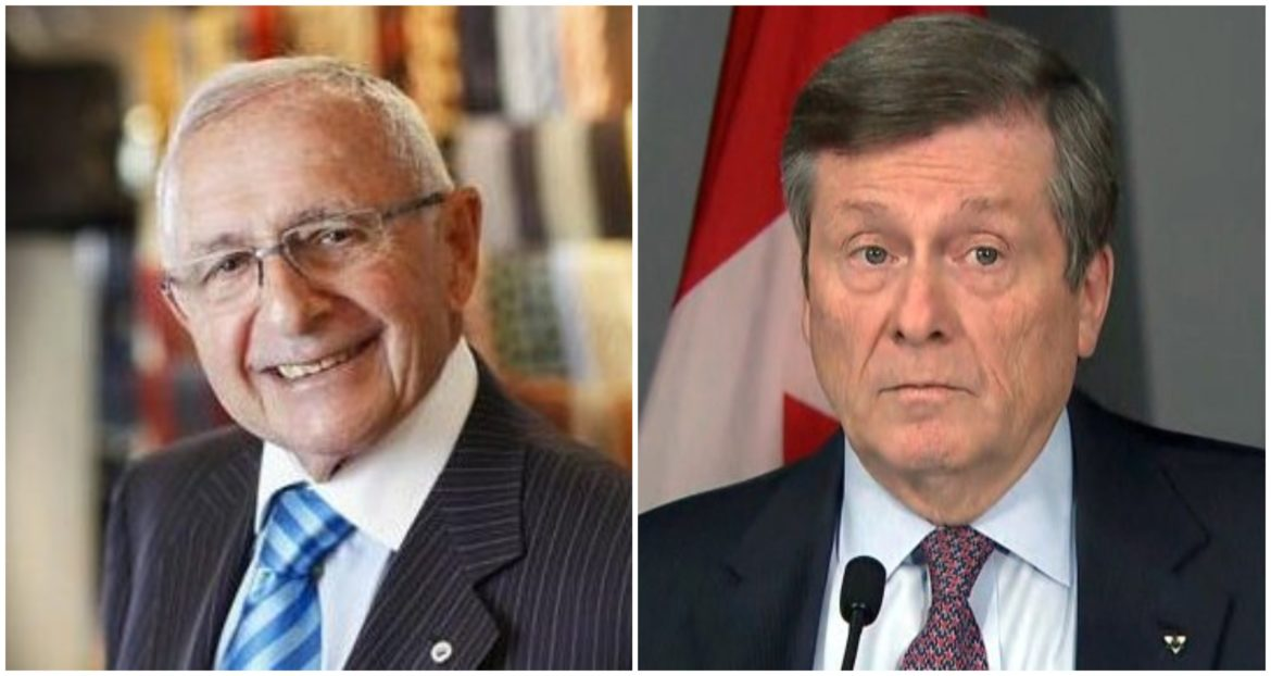 """We will never again see the likes of Saul Korman"" – John Tory"