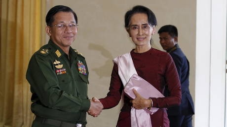 Myanmar's leader Aung San Suu Kyi & senior officials DETAINED amid fears of military coup – reports