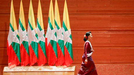 Myanmar's state TV goes off air over 'communication problems', phone & Internet services limited amid apparent coup