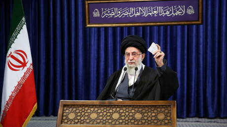 Want Iran back to its nuclear deal commitments? Lift all the sanctions, Ayatollah Khamenei tells US