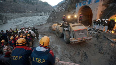 Glacier burst: At least 26 dead, up to 200 missing in India as search for survivors continues day after disaster (VIDEO)