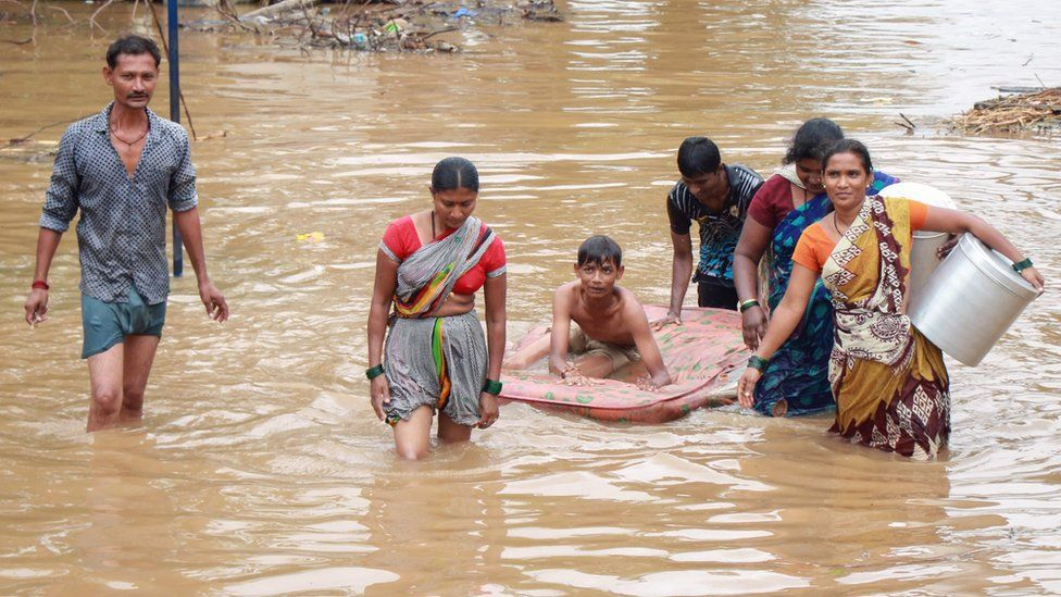 Up to 150 people DEAD as glacier burst sparks massive flood in northern India