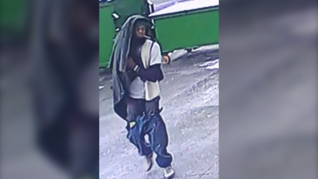 Suspect at large after allegedly robbing ELDERLY WOMAN in elevator