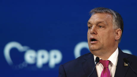 Orban's Fidesz party quits center-right bloc in European Parliament after it threatens to exclude Hungarian faction