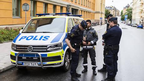 Several people injured in suspected terrorist attack stabbing in Sweden – police