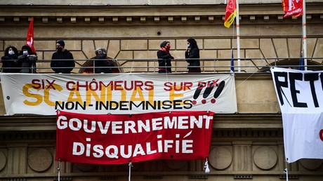 Activists occupy Paris theater as protesters across France demand cultural venues reopen despite Covid-19 fears