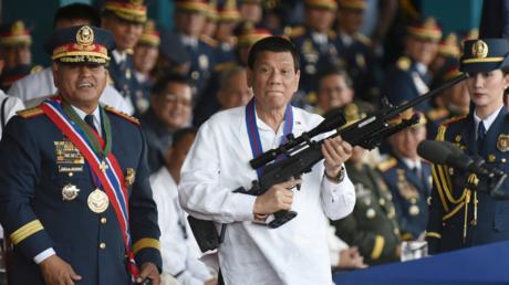 "Duterte Harry: Philippines leader admits ""extrajudicial killings"""