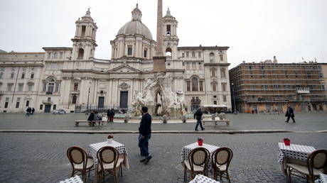 Italy's Rome and Milan to be declared Covid 'red zones' as whole country heads for Easter lockdown amid rising infections