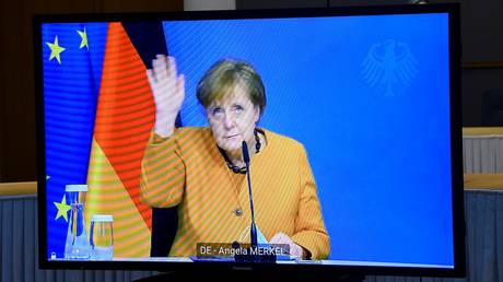 Merkel's scandal-hit party limps towards likely defeats in key state elections months before Germans select next chancellor