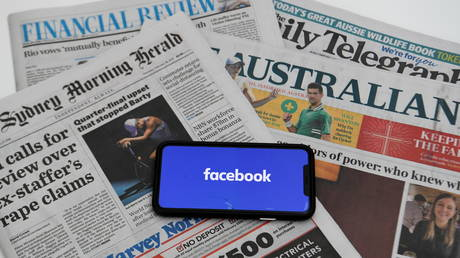 'Transforming journalism': Facebook strikes 3yr pay-per-content deal with Rupert Murdoch's News Corp in Australia