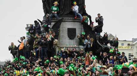 Covid party pooper: Irish ministers urge people to ditch the booze while toasting St Patrick's Day amid pandemic