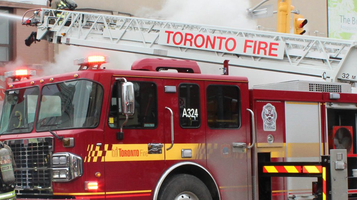 2 treated for smoke inhalation after fire at College and Ossington
