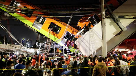 13 dead, 70 injured in Mexico City metro COLLAPSE