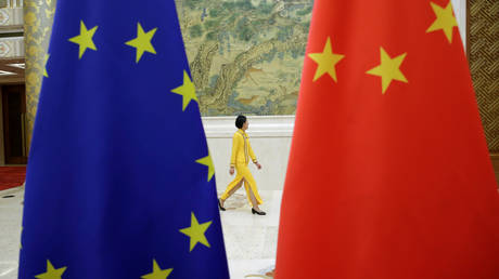 EU suspends efforts to ratify investment deal with China amid ongoing sanctions row, Commission VP tells AFP