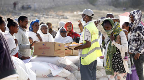 Famine hits Ethiopia's Tigray region, UN humanitarian chief says, with 350,000 reportedly at risk