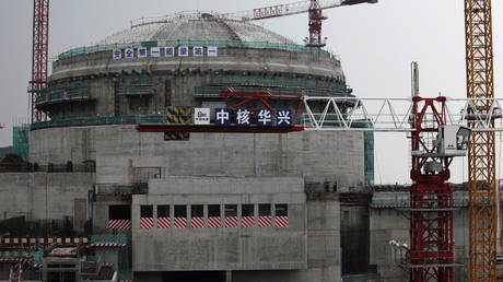 Buildup of inert gases at Chinese nuclear facility, French partner firm says after reports of US investigating possible leak
