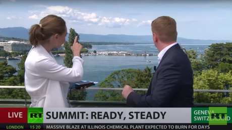 WATCH: RT captures arrival of US Air Force One in Geneva LIVE as Biden lands in Switzerland ahead of meeting with Putin