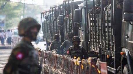 VIDEO: 2 reported dead, military truck burnt as twin blasts rock Myanmar's Yangon