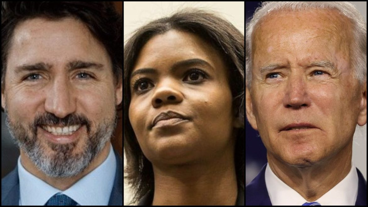 Candace Owens claims Biden and Trudeau work for the Chinese Communist Party