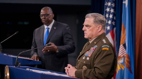 Top US general Milley insists military is 'apolitical' as he dodges questions about 'white rage' & critical race theory comments