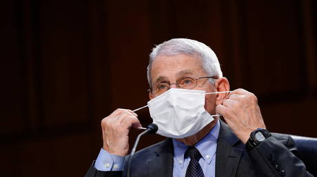 Mask flip-flop? CDC 'actively' considering face cover advisory for vaccinated Americans, according to Fauci