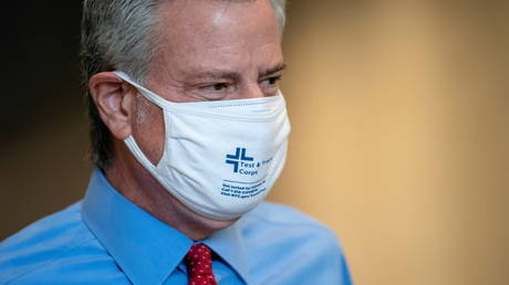 NYC Mayor de Blasio demands full vaccination for all city workers by September & threatens 'tough consequences' for mask flouters