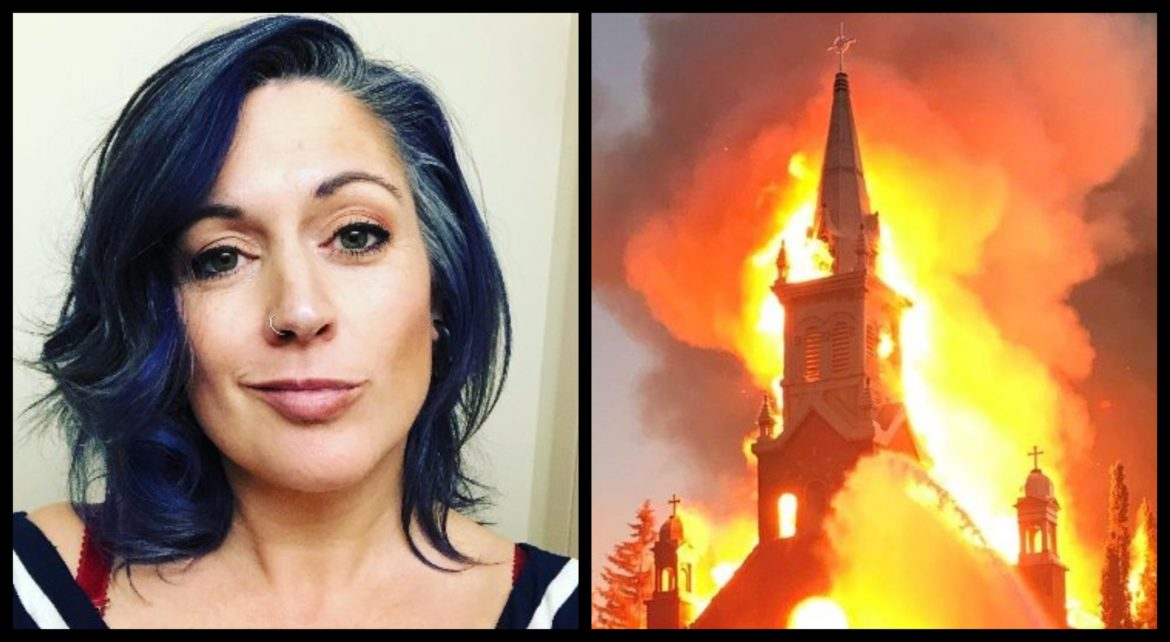 'Burn the churches down': New Brunswick radio host apologizes after advocating for arson