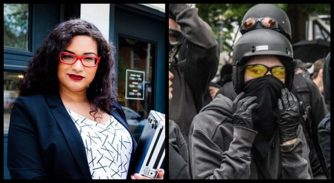 Chris Sky / Caryma Sa'd show in Chinatown disrupted by ANTIFA