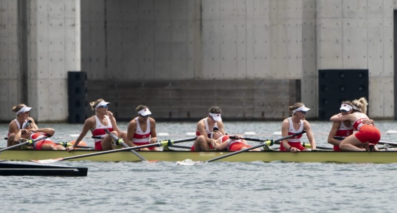 'Everybody was crying': B.C. rower among team to win gold at Tokyo Olympics clairefenton