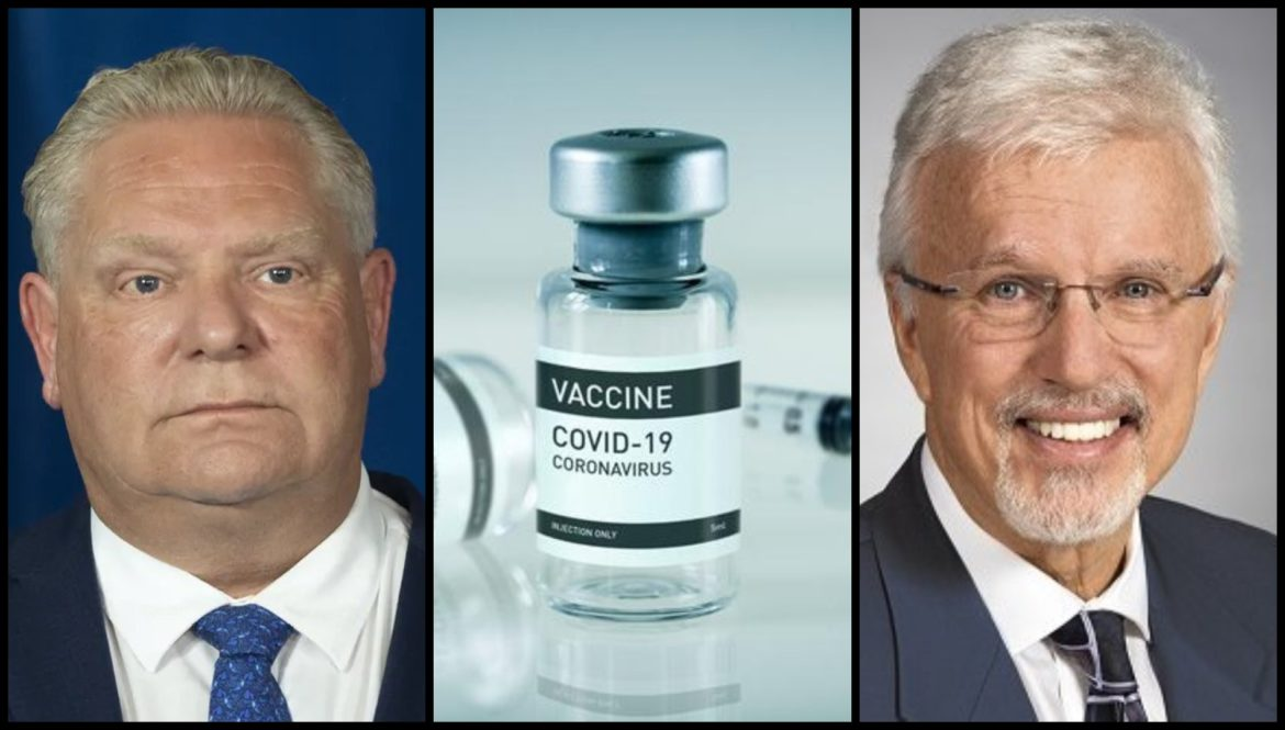 'Disgusting move': Ford FIRES MPP after he REFUSES to get Covid vaccine