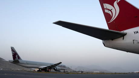 White House praises 'businesslike & professional' Taliban as first civilian flight since Kabul airport CHAOS safely lands in Qatar