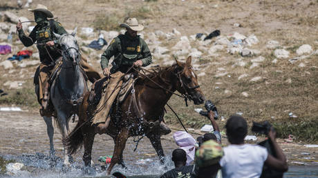 Democrats mistake horse reins for WHIPS to accuse Border Patrol of cruelty to Haitian migrants crossing from Mexico