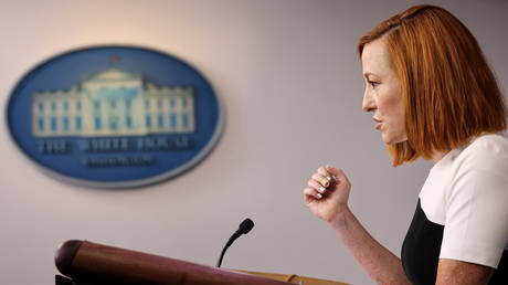 'This is not normal': Jen Psaki blasted for suggesting UK PM blindsided White House by taking questions from the media