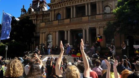 Australian police confirm officers' use of force during arrest of Indigenous man who died after 'violent struggle'