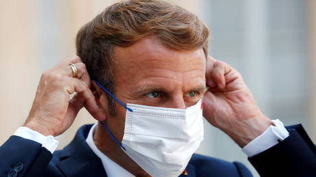 French teenager arrested for trying to enter hospital with President Emmanuel Macron's vaccine passport – media