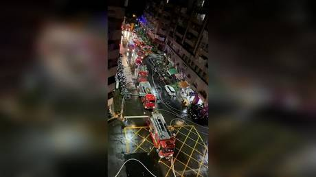 25 dead and dozens injured after fire engulfs Taiwan 'ghost building' overnight