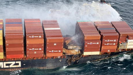 Container ship fire that sent toxic gas billowing into the air in British Columbia 'stabilized' – Canadian Coast Guard