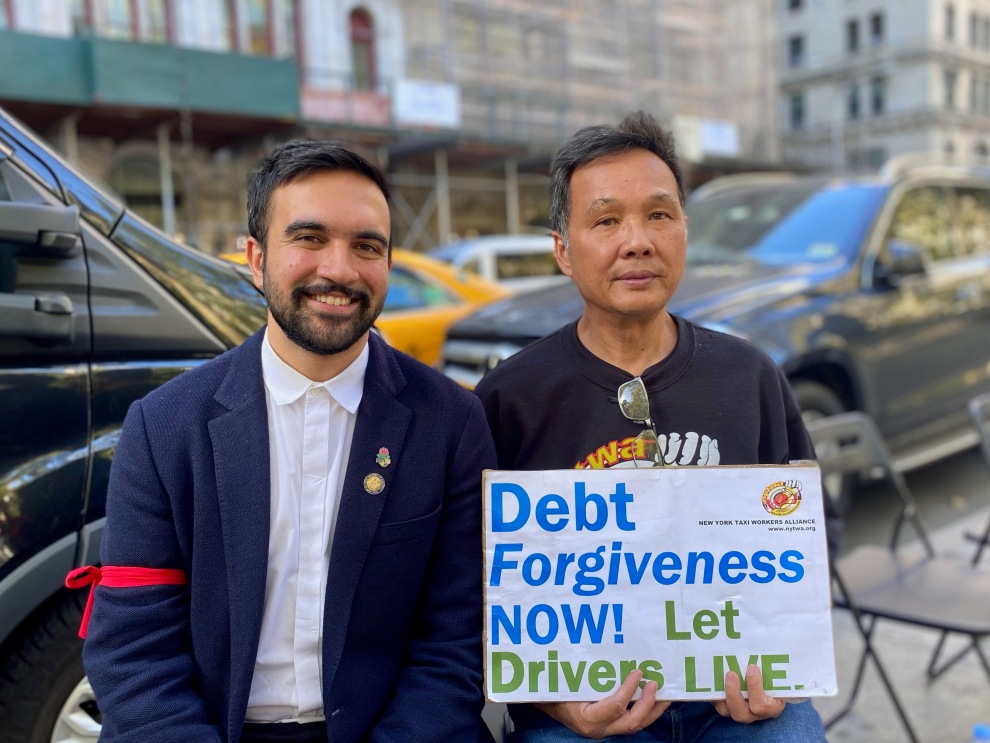 New York City Loaded Taxi Drivers With Debt. Now They're on Hunger Strike to Force Real Relief.